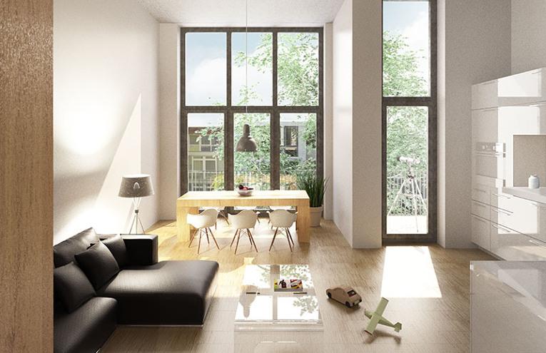 Bauprojekt Heinersdorfer Str. 50 © Schindler Friede