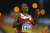 Omara Durand aus Kuba ist die schnellste weibliche Paralymic Sprinterin von 2015 © Getty Images